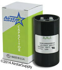 145-174 uF x 220 / 250 VAC • BMI # 092A145B250BD4A Motor Start Capacitor • USA