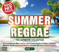 SUMMER REGGAE THE ULTIMATE COLLECTION 5 CD SET (100 Hit Tracks) (Release 2017)