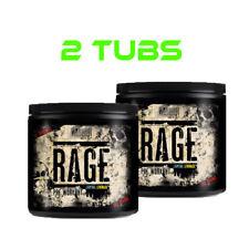 2 x Warrior Rage Pre-Workout Supplement | Muscle Pumps | Caffeine | High Energy