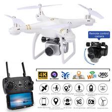 5G GPS WIFI Selfie FPV Drohne 4K Kamera RC Drone Quadcopter APP Foto Video Weiß
