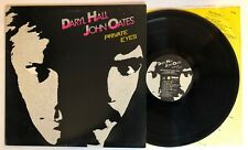 """Hall & Oates - Private Eyes - 1981 US 1st Press """"RL"""" (EX) Ultrasonic Clean"""