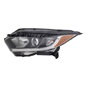 HO2502190 New Replacement Left Halogen Headlight Assembly for 2019-2021 HRV CAPA