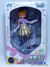 "Used SEGA VOCALOID Kagamine Rin Cheerful Candy SPM Figure 9.5"" Hatsune Miku"