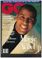 Gq Revista Febrero 1993 Magia Johnson Lara Flynn Boyle George Steinbrenner