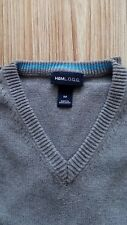 """BEAU PULL GRIS - TAILLE M - de Marque """"H&M"""" COL  V en 100% Coton"""