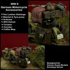 1/35 WWII German Motorcycle Accessories for Vulcan Zundapp Series kit