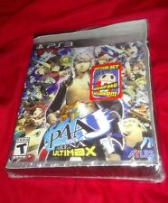 RARE NEW Persona 4 Arena Ultimax With Tarot Cards + Teddie Bop PS3 PlayStation 3