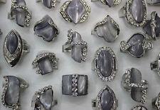 Wholesale mixed lots 43pcs shell&rhinestone fashion charming lady's rings