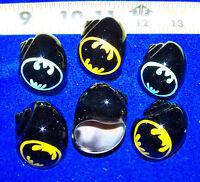 4 HERMIT CRAB SHELLS PAINTED SPECIAL  BATS  SHELLS