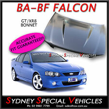 FORD FALCON BA BF FPV GT XR8 BOSS BULGE BONNET STEEL - BRAND NEW - PICK UP ONLY
