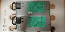 A lot of 2 HP 579229-001 1200W Server Power Supply DPS-1200FB-1 P/N 570451-001