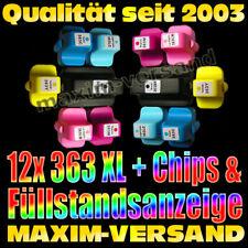 Patronen Set Multipack 12 DRUCKERPATRONEN für HP Photosmart D6160 C7280 C8180
