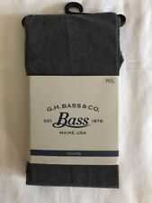 GH Bass & Co Women's Tights Size M/L NEW