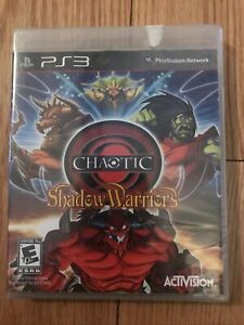Chaotic: Shadow Warriors (Sony PlayStation 3, 2009) Factory Sealed