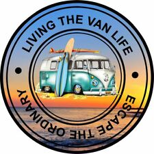 Van Life Vinyl Decal Sticker EURO  DUB VW Funny Camper camping
