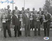 Sammy Baugh Signed Autographed Inaugural HOF Induction 8x10 Photo PSA/DNA COA