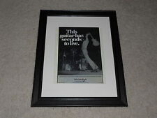"Framed 1979 Pete Townshend Ad Mini-Poster, 14"" by 17"" The Kids Are Alright, Who"