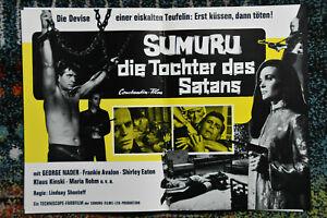14AHFs Kino Lobbycard: Sumuru- Die Tochter des Satans
