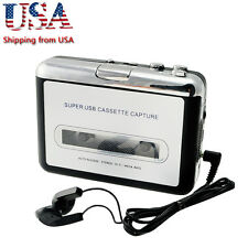 USB Cassette Tape to MP3 iPod CD Converter Capture Audio Music Player USA Fast