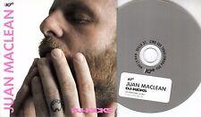 JUAN MACLEAN DJ Kicks 2010 UK 18-trk promo test CD Todd Terje