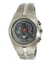 SEIKO Arctura SNL007 SNL007P1 Kinetic Chronograph Sapphire Titanium 100m Watch