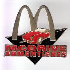 RARE PINS PIN'S .. MC DONALD'S RESTAURANT VOITURE CAR DRIVE ARMENTIERES 59 ~17