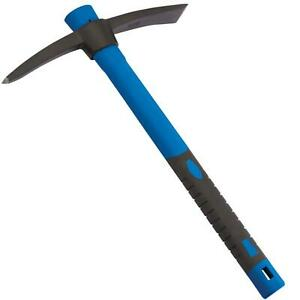 Draper Pickaxe Lightweight Mini Mattock Fibreglass Shaft Handle Pick Axe 400g