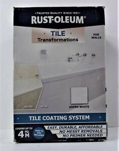 Rust-Oleum Tile Transformation Paint Treatment Kit in Aspen White BRAND NEW