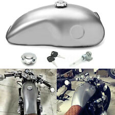 10L(2.6 Gallon) Big Cafe Racer Gas Fuel Tank Custom Tank For Suzuki/Yamaha/Honda