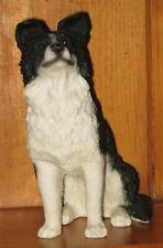 8 Inch Border Collie Dog Figure Figurine Statue