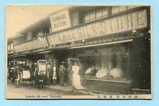 Antique 1910 NAGASAKI JAPAN Storefront  KUMABE SILK STORE Exterior