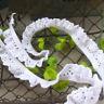 5 Yards Baumwolle Elastizität Spitze Trim Hochzeit Socken Nähen Dekoration