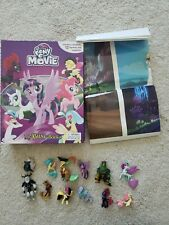 MY BUSY BOOKS MY LITTLE PONY THE MOVIE STORYBOOK 12 FIGURINES PLAYMAT