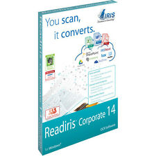 ReadIRIS Corporate 14 for PC DVD-- OCR software Document Management software PDF