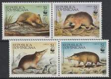 WWF Dominicana postfris 1994 MNH 1698-1701 - Solenodon (019)