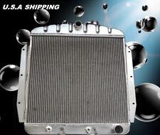 "POLISHED 3 ROW ALUMINUM RADIATOR FIT 55-59 Chevy 3B 3C 3D 3E 3F 3G Truck 19/""X21/"""