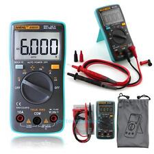 Auto-range Digital Multimeter Backlight AC/DC Ammeter Voltage Temperature Tester