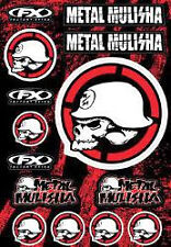 Metal Mulisha Decal Sheet Kit #2 Motocross MX Factory Effex  # 16-68052
