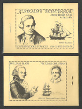 ST HELENA 1988 SHIPS EXPLORERS CAPTAIN COOK BLIGH PRIVATE BOOKLET MNH