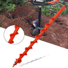 60mm Earth Auger Drill Bit Fence Borer For Garden Petrol Post Hole Digger Tool