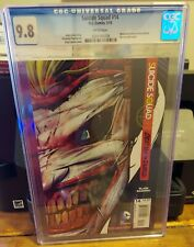 SUICIDE SQUAD #14 CGC 9.8 NEWSTAND EDITION EXISTS WHTOUT DIE-CUT OUTER COVER