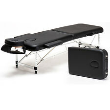 "Ultra Light Aluminum 84"" Portable Massage Table Facial Spa Bed Tattoo Carry Case"