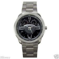 Skoda Octavia MK3 Steering Wheel Style Sport Metal Watch