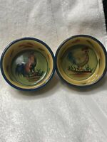 2 Vintage Style~Eyes Ramekins Serving Dishes/ Dips/Candy/Condiments