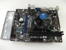 MSI H81M-P33 Socket 1150 Motherboard With Intel i3-4130 3.40 GHz Cpu