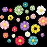 P hot 20 Pcs Resin Sunflower Flower Flatback Scrapbooking DIY Phone Craft Hot