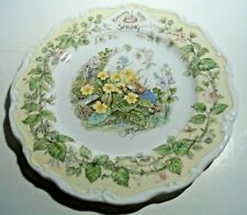 Royal Doulton Brambly Hedge, 8 Inch Plate, Spring