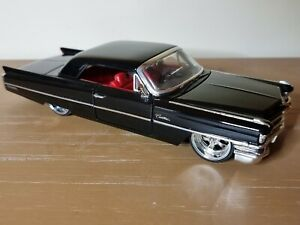 Jada Dub City Oldskool 1963 Cadillac Coupe Black 1:24 Scale Diecast Model