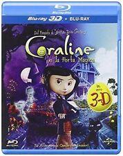 Blu Ray  CORALINE e la porta magica 3D + Blu Ray ......NUOVO