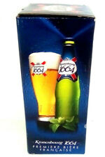 Kronenbourg 1664 Pint Glass Beer 0.25L Premiere Biere Francaise Made in France